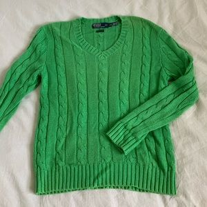 Silk Polo Ralph Lauren sweater